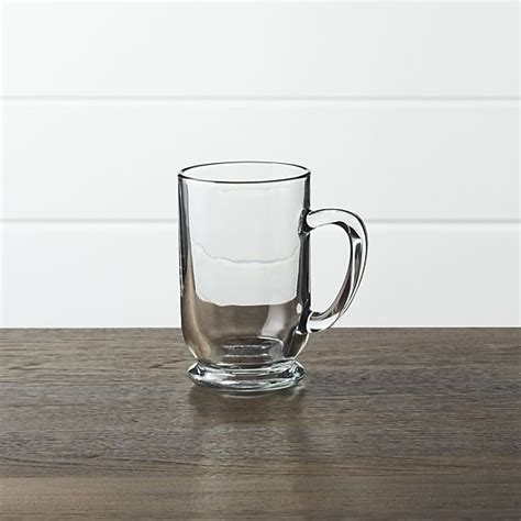 Check out our crate and barrel selection for the very best in unique or custom, handmade pieces from our plates shops. Caffeine Mug + Reviews | Crate and Barrel | Caffeine mugs, Clear glass coffee mugs, Mugs