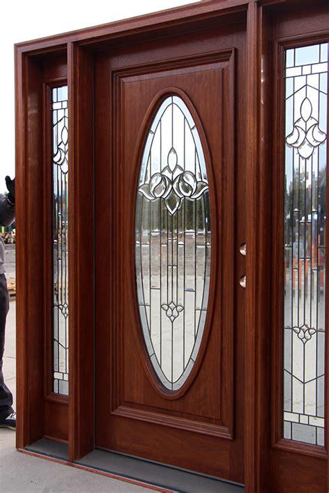 exterior door  oval glass