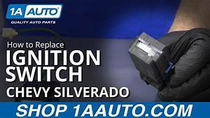 How To Replace Ignition Switch 07-16 Chevy Silverado
