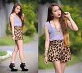 Latest fashion for teen girls