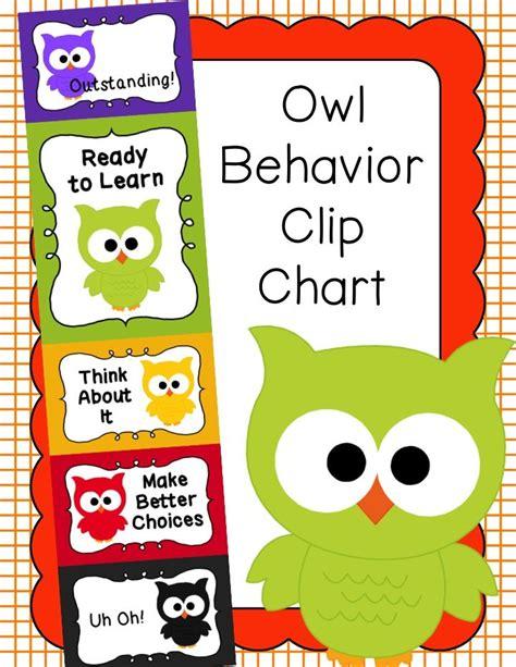 behavior clip chart behavior management owls 822 | 65619ff1e5b10741060c2f72e8ded255 preschool behavior preschool lessons