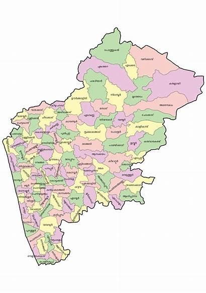 Malappuram Map District Svg Ml Wikipedia Places