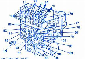 Chevrolet Silverado 305 1986 Fuse Box  Block Circuit
