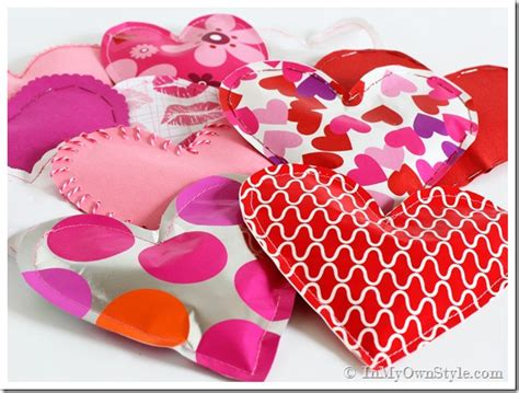 Paper Valentine Candy Filled Hearts Fun Family Crafts