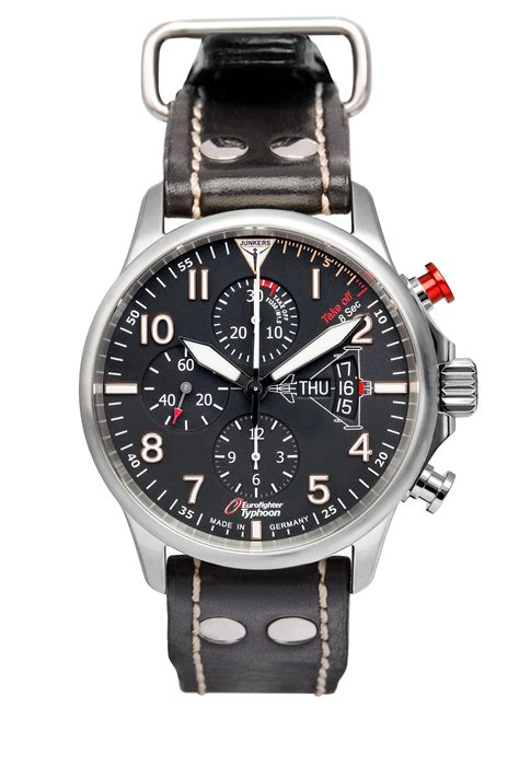 Junkers 6826-5 Eurofighter Chronograph Day & Date - Stupid ...