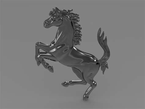 Vector, vectors, printable, logo, high, resolution, ferrari, seek png clipart. Ferrari horse logo 3D Model MAX OBJ 3DS FBX C4D LWO LW LWS   CGTrader.com