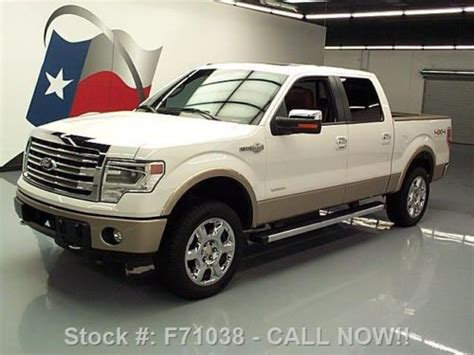 Sell Used 2013 Ford F150 King Ranch Crew 4x4 Ecoboost