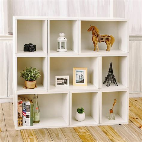 White Bookcase by Way Basics Oxford Eco Zboard Tool Free Assembly White