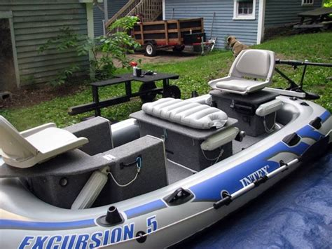 custom modular intex excursion 5 inflatable boat