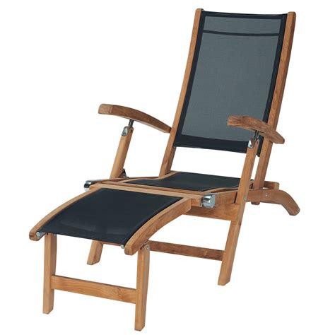 chaises longues de jardin chaise longue de jardin bois teck maisons du