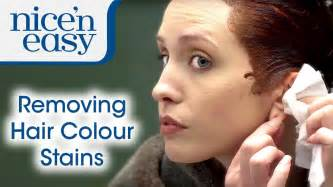 Home Hair Dye Tips How To Remove Hair Dye Stains Nice