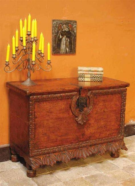 scalloped skirt reproduction spanish colonial chest cachimbo hardwood mediterrania home