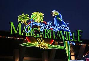 Margaritaville ArtisticNeon Orlando Florida USA