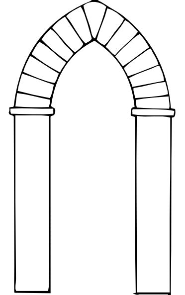 Arch Clipart Arch Types Clip At Clker Vector Clip