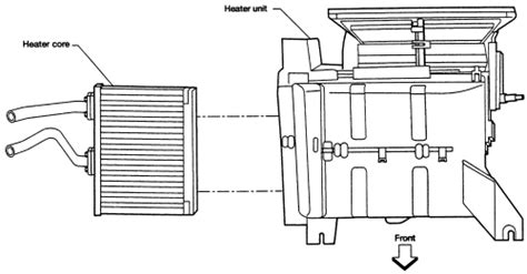 repair guides heater removal installation 1