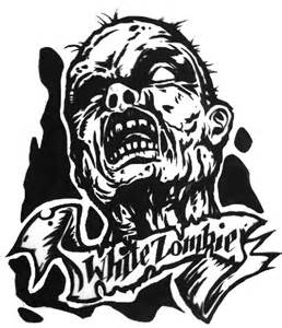 White Zombie Art