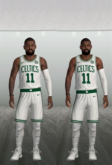 Kyrie Irving UPDATED CYBERFACE, SMALLER HEAD, THINNER LEGS ...