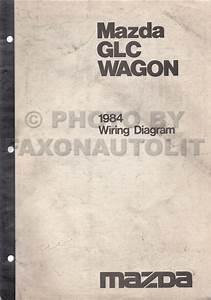 1984 Mazda Glc Wagon Wiring Diagram Manual Original