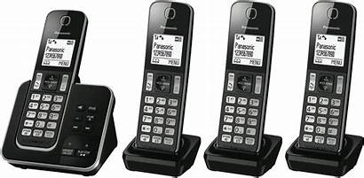 Panasonic Cordless Phone Handset Machine Answering Digital