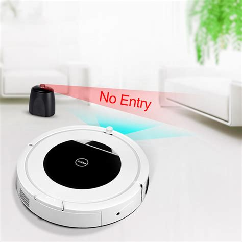 pro led robotic robot vacuum cleaner automatic recharge