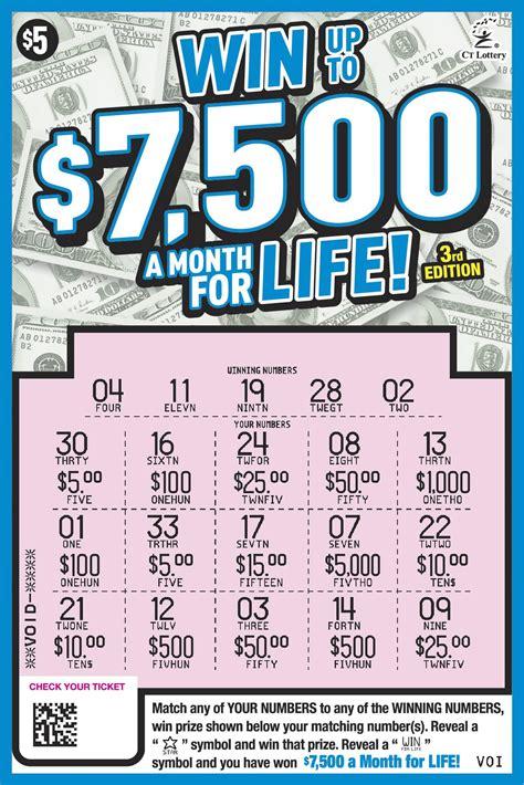 danbury man wins   lottery scratch  ticket