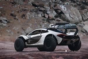 An Off Road McLaren P1 Concept DamnedWerk