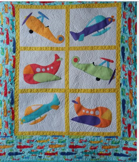 Patchwork Applique Patterns by Sweet Appliqued Helicopter Baby Quilt Baby Quilts