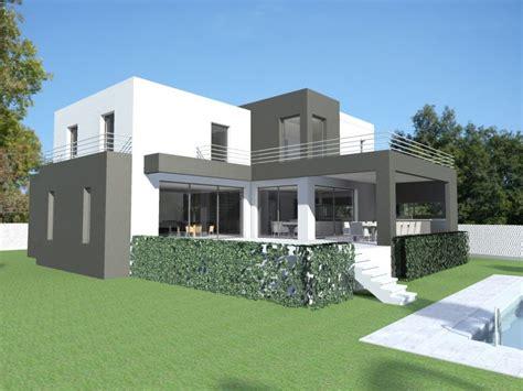 plan villa moderne 200m2 plan maison contemporaine pyr 233 n 233 es orientales 66 plan villa contemporaine de 230 m2 224 233 tage
