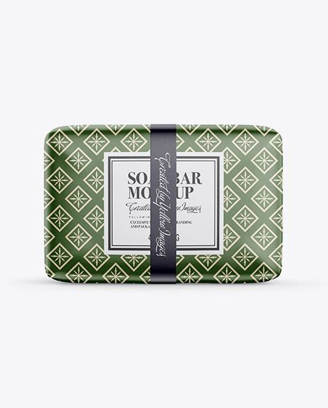 Make your soap packaging designs look fantabulous by using this free soap bar mockup. Glossy Soap Package Mockup - Front View - Kraft Soap Bar ...