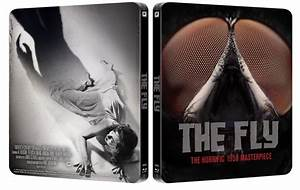 """The Fly"" (1958) (steelbook) en UK para marzo de 2014. Blu-ray"