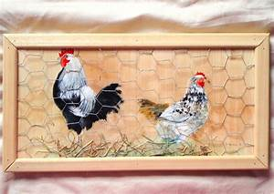 Décaper Peinture Sur Bois : peintures peinture sur bois avec une poule poules ~ Dailycaller-alerts.com Idées de Décoration