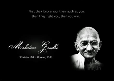 unit twenty  quotes mahatma gandhi quotes