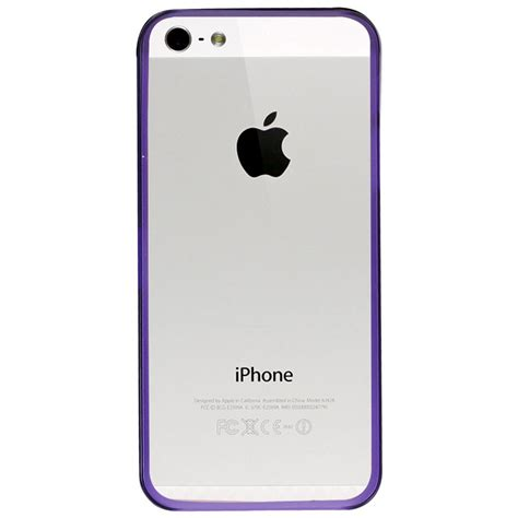 clear iphone 5s clear plastic for iphone 5 5s purple