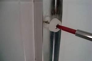 installer une porte de douche etape par etape consobrico With installer une porte de douche