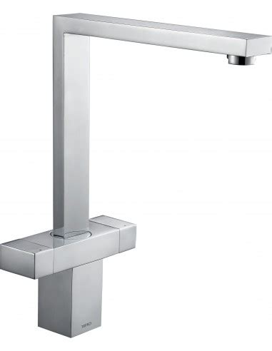 contemporary kitchen taps uk 1810 versare kitchen tap square modern design chrome or 5734