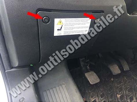 Fiat Sedici Fuse Box by Obd2 Connector Location In Fiat Ducato 2014