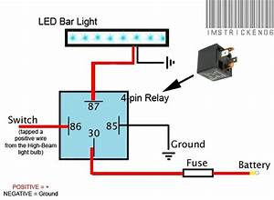 Relay 4 Pin Wiring Diagram