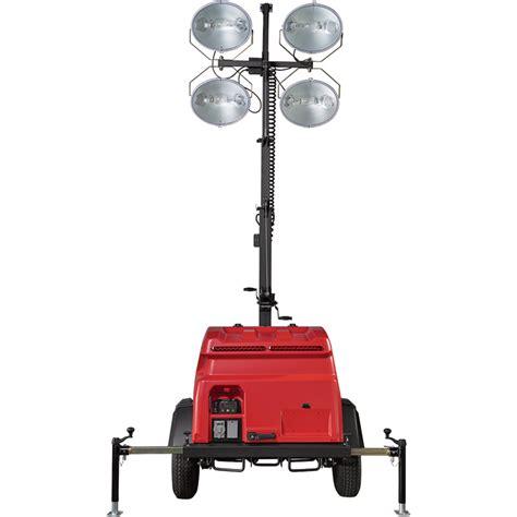 magnum light towers generac magnum mlt6sm mobile light tower 6000 watts