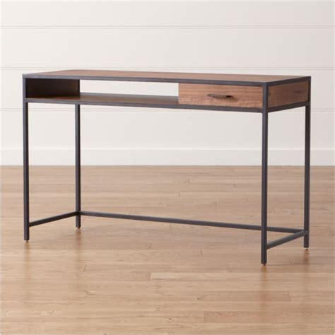 suzuki family support desk writing desk reviews crate and barrel
