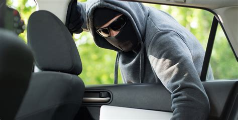 car burglary prevention tips and vehicle security advice