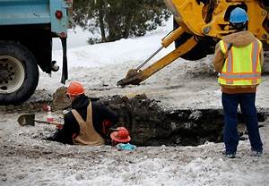 Crews repairing water main break on Billings' North Side ...