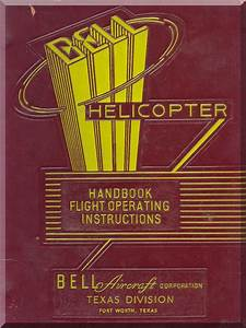 Bell Helicopter Yr-13 Flight Handbook Manual