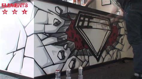 graffiti  elements mma gym youtube