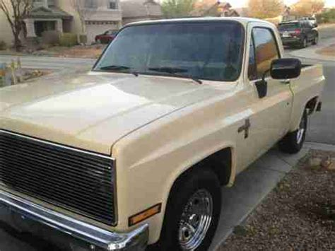 Buy Used 1981 Chevy C10 Shortbed **rust Free Az Truck** No