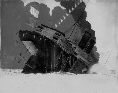 Rms Lusitania Sinking Animation by The Sinking Of The Lusitania 1918