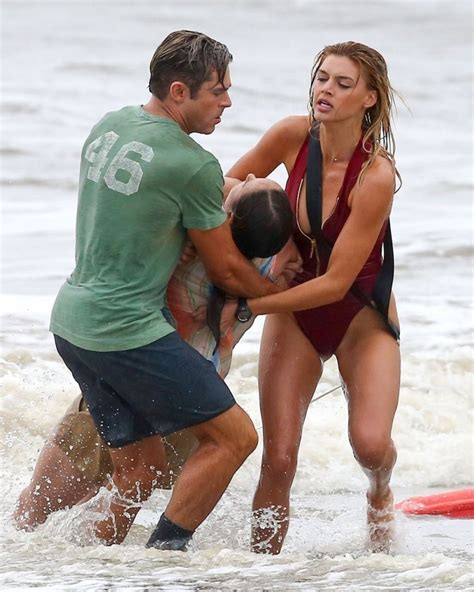 Kelly Rohrbach On The Set Of 'baywatch' In Georgia 3/30/2016