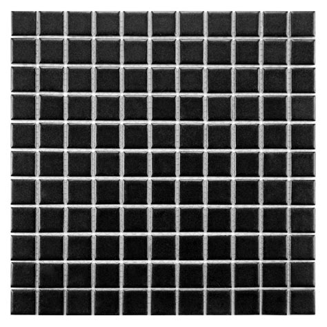 merola tile metro square matte black 11 3 4 in x 11 3 4