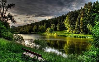 Nature Lake Forest Backgrounds Landscape Natural Desktop