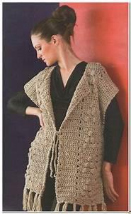 Simple Crochet Vest Pattern  U22c6 Crochet Kingdom