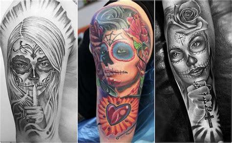 la catrina tattoos bedeutung 1001 ideen und bilder zum thema la catrina